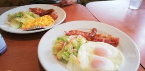 デニーズの朝食
